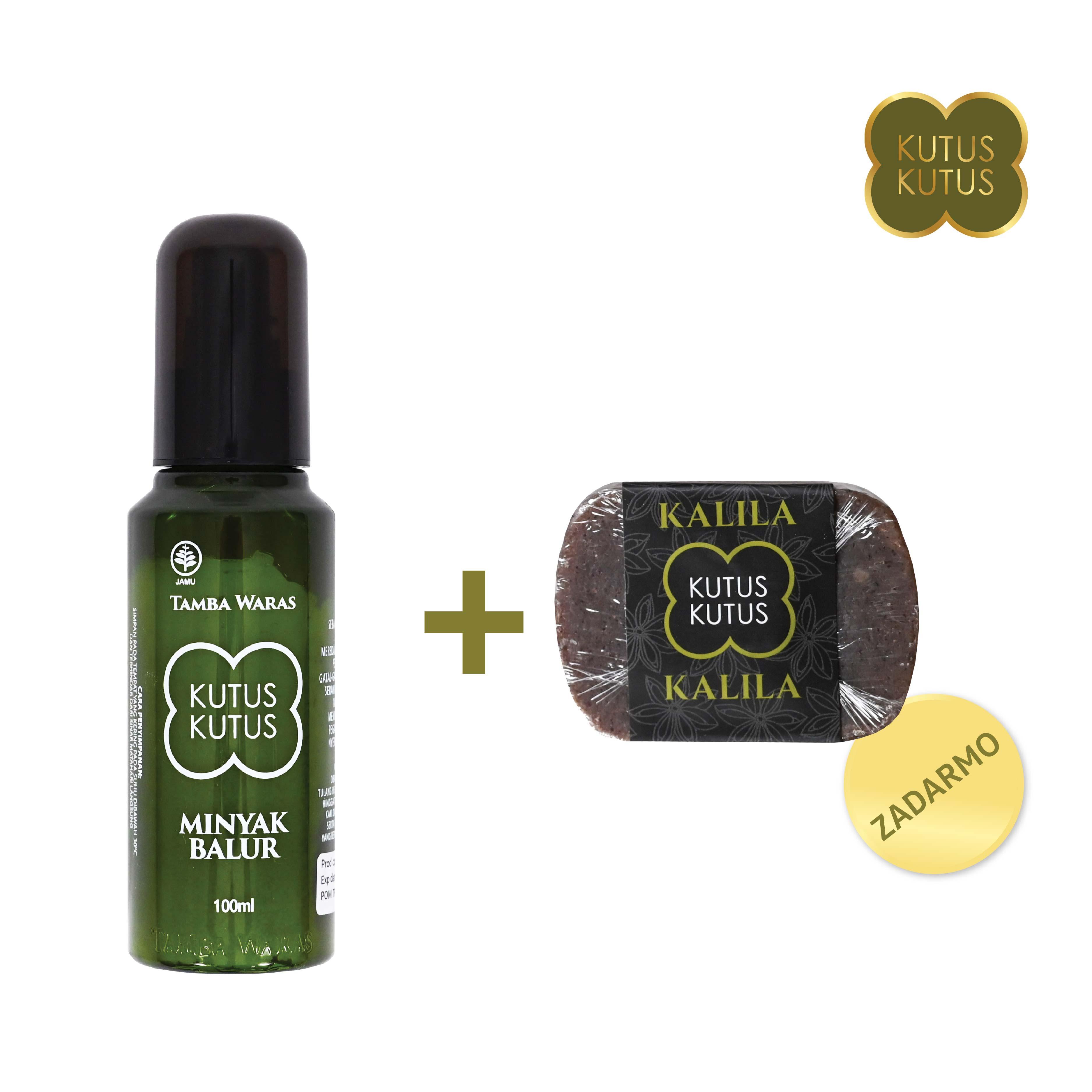 Olej Minyak Balur + mydlo zadarmo